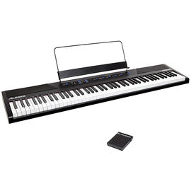 Alesis Digital Keyboard + M-Audio Sustain Pedal Package - PKG #36100
