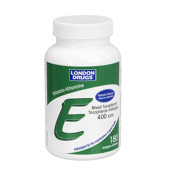 London Drugs Vitamin E - 400IU - 180's