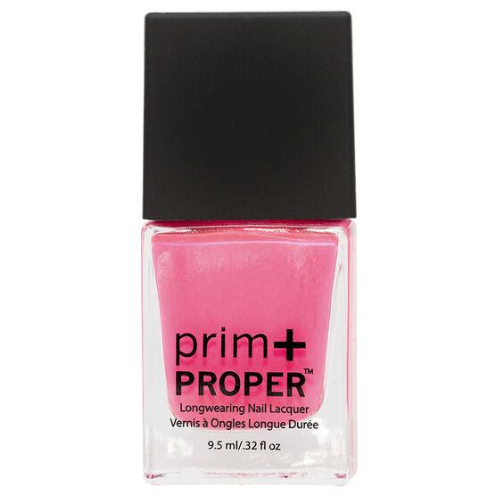 Prim + Proper Nail Lacquer - Pink Flamingo Dancer