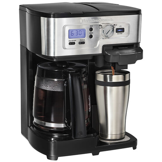 Hamilton Beach Deluxe Two-Way Brewer with K-Cup - 49984C