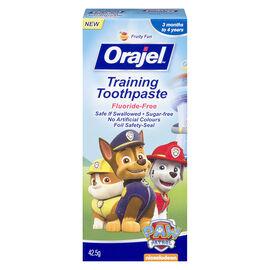 Orajel Paw Patrol Training Toothpaste - 42.5g