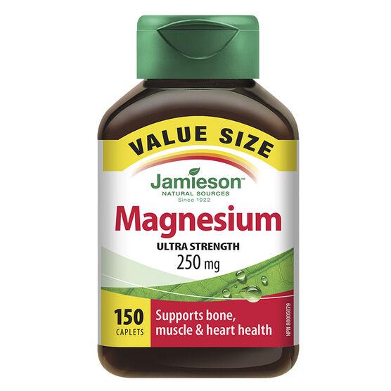 Jamieson Magnesium Ultra Strength 250 mg - 150's