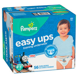 Pampers Easy Ups Training Underwear - 4T/5T - 56ct