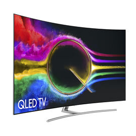 Samsung 65-in QLED 4K Curved Smart TV - QN65Q8CAMFXZC