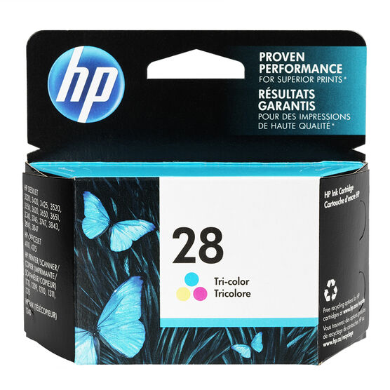 HP 28 DeskJet 3320/3420 Ink Cartridge - Tri-Colour - C8728AC