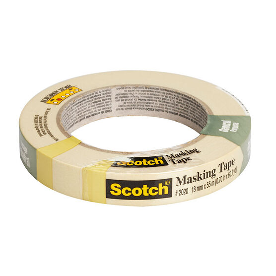 3M Scotch Masking Tape - 18mm x 55m