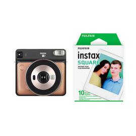 Fujifilm Instax SQUARE SQ6 with Bonus Square Film Pack - Blush Gold - PKG #56012