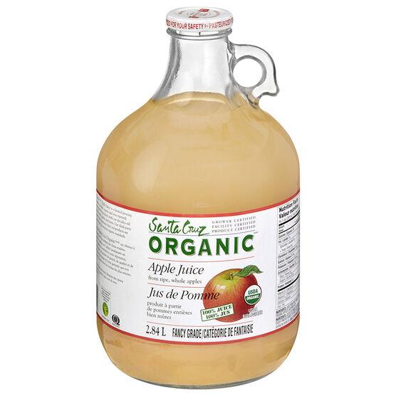 Santa Cruz Organic Apple Juice - 2.84L