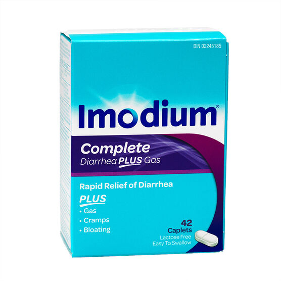 Imodium Complete Caplets - 42's