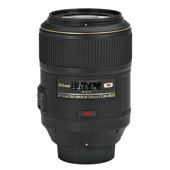 Nikon AF-S FX 105mm f/2.8 G IF-ED Lens VR - Macro