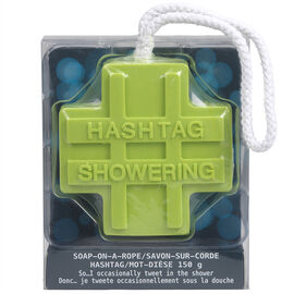 Soap On A Rope Hashtag - Assorted - 150g