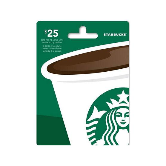 Starbucks Gift Card - $25