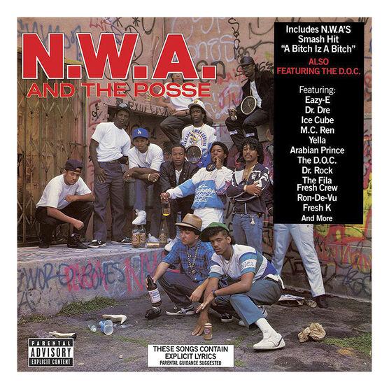 N.W.A. - N.W.A. and the Posse - Vinyl