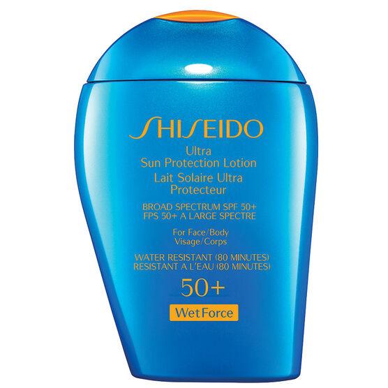 Shiseido Ultra Sun Protection Lotion SPF 50+ Wetforce - 100ml