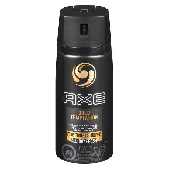 Axe Gold Temptation Daily Fragrance - 113g