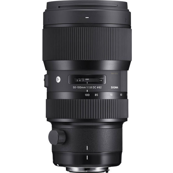 Sigma Art 50-100mm F1.8 DC HSM Lens for Canon - A50100DCHC
