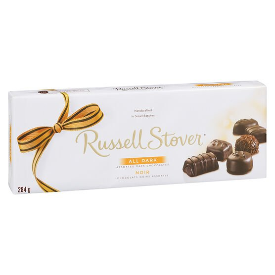 Russell Stover Assorted All Dark Chocolate - 284g