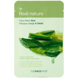 Real Nature Face Mask - Aloe - 20g