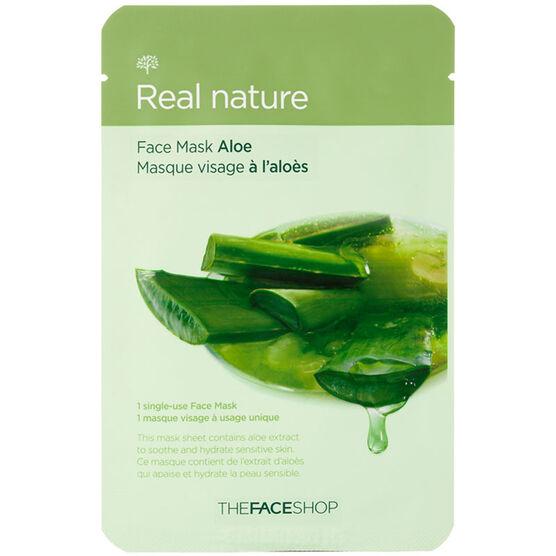 Real Nature Face Mask - Aloe - 20g