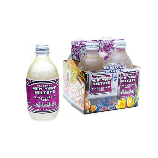 New York Seltzer - Black Cherry - 4 x 296ml