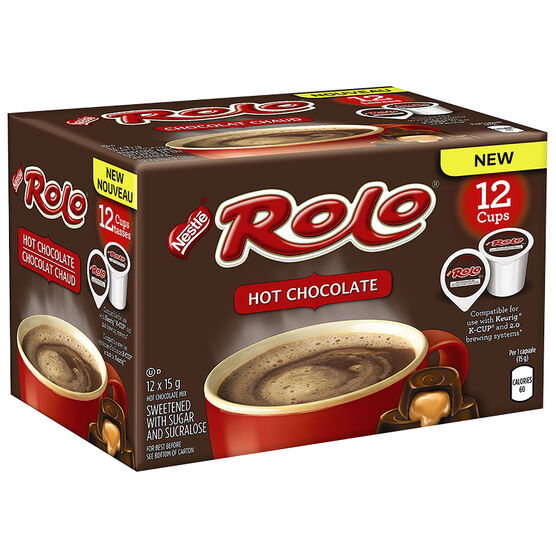 Nestle Rolo Hot Chocolate - 12 pack