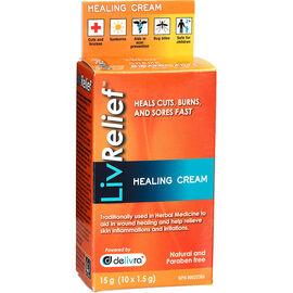 Liv Relief Healing Cream - 10 x 1.5g