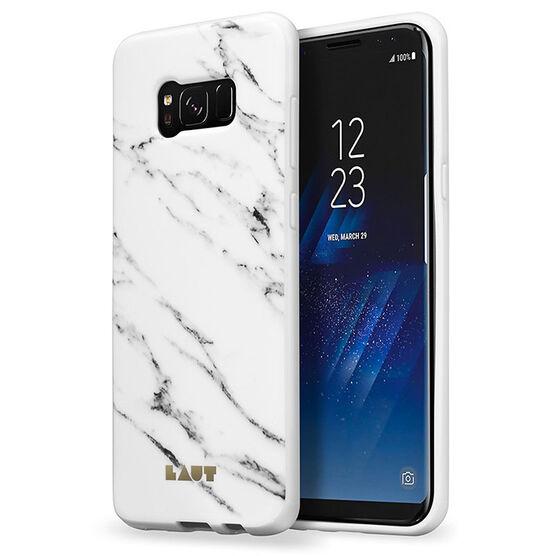 Laut Huex Elements Case for Samsung Galaxy S8 - Marble White - LAUTS8HXEMW