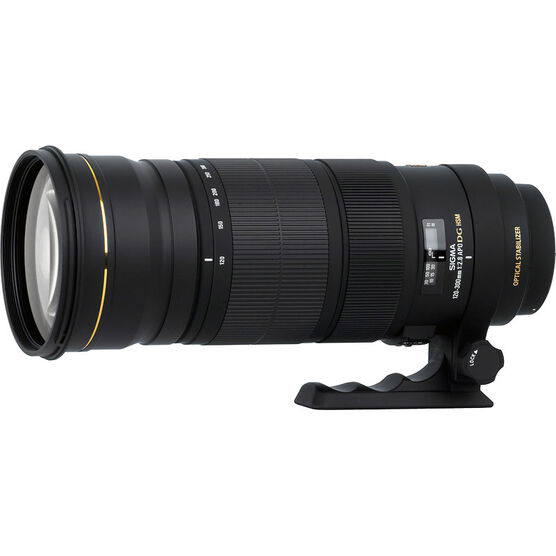 Sigma 120-300mm F2.8 Sport DG Hsm Optical Stabilized Lens for Canon - SOS1203DGC