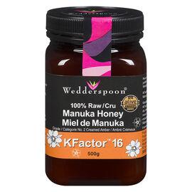 Wedderspoon 100% Raw Manuka Honey - 500g