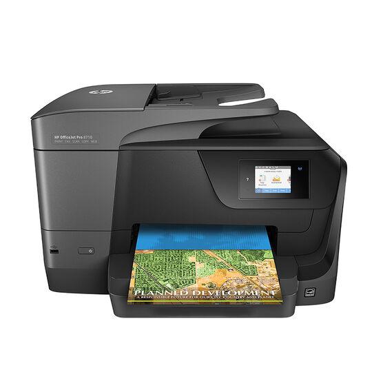 HP OfficeJet Pro 8710 All-in-One Printer - Black - M9L66A#B1H
