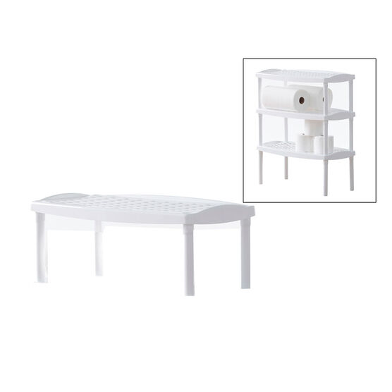 Tuff & Tidy Plastic Stackable Shelf