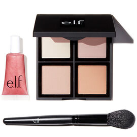 e.l.f. Get Glowing Set - 3 piece