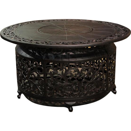 Whistler Cast Aluminum Propane Fire Table - Black