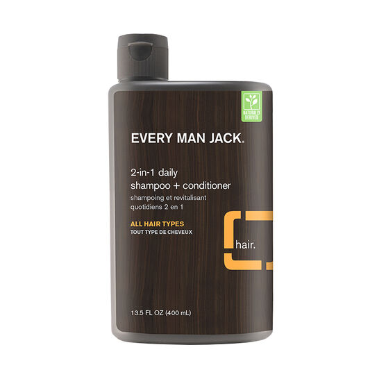 Every Man Jack 2-in-1 Daily Shampoo + Conditioner - 400ml
