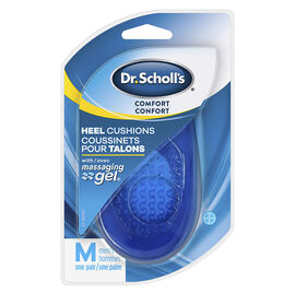 Dr. Scholl's Massaging Gel Heel Cushions Men's