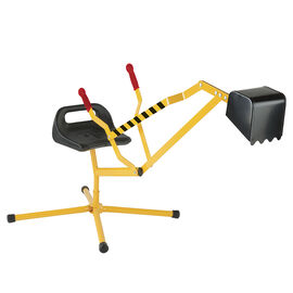 Little Workers Digger - Yellow - 02979