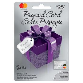 Vanilla Mastercard Gift Card - $25