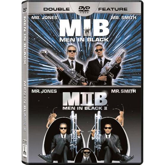 Double Feature: Men in Black/Men in Black II - DVD