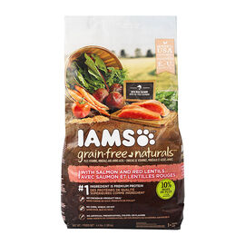 IAMS Healthy Naturals Adult Dog Food - Salmon/Red Lentle - 2kg