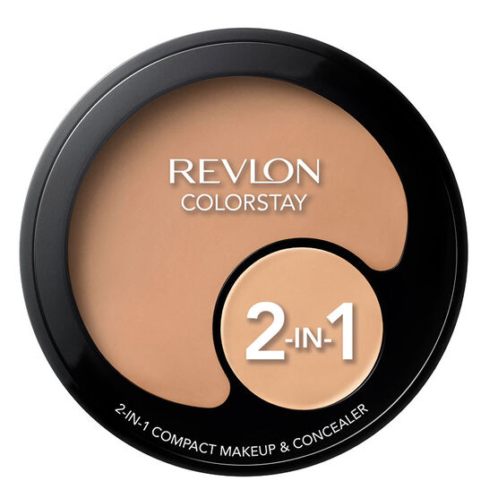 Revlon Colourstay 2-in-1 Compact Makeup & Concealer - Natural Beige