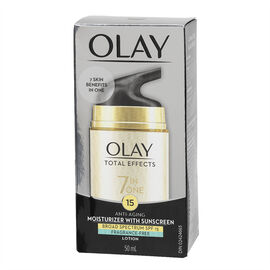 Olay Total Effects 7-in-1 Visible Anti-Aging Moisturizing Cream with SPF15 - 50ml