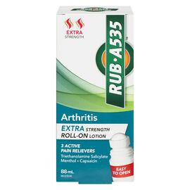 RUB A535 Arthritis Roll-On Lotion - Extra Strength - 88ml