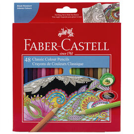 Faber Castell Pencil Crayons - 48's