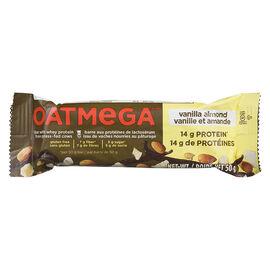 Oatmega Whey Protein Bar - Vanilla Almond - 50g