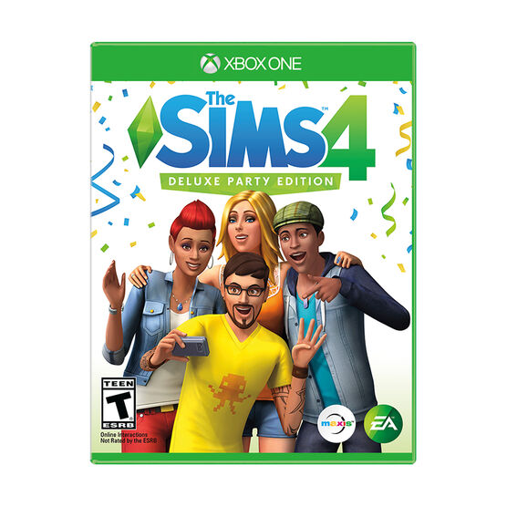 Xbox One The Sims 4 Deluxe Party Edition