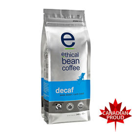 Ethical Bean Coffee - Decaf - Whole Bean - 340g