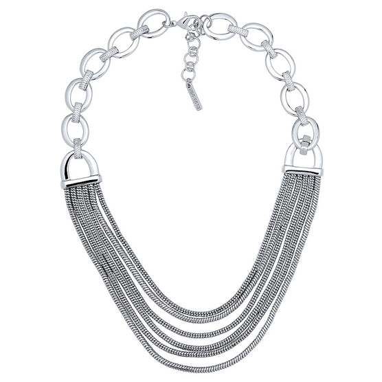 Nine West Multi Necklace - Silver