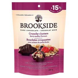 Brookside Dark Chocolate Crunchy Clusters - Berry Medley - 167g