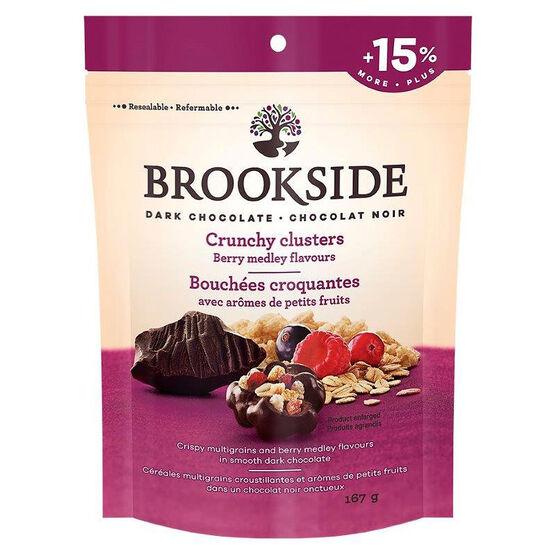 Brookside Dark Chocolate Crunchy Clusters - Berry Medley - 167g