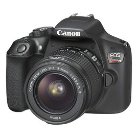 Canon Rebel T6 with 18-55mm IS II Lens - Black - 1159C003